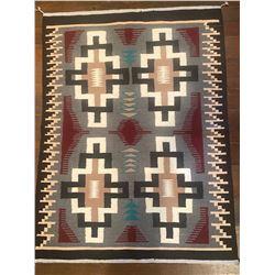 Teec Nos Pos Navajo Weaving by Emma Dee.