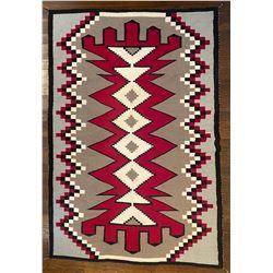 Navajo Ganado Large Floor Rug measuring 96-inches by 63-inches