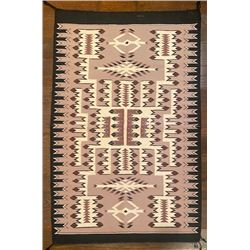 Nice Navajo Storm Pattern Rug by Daisy Littleman