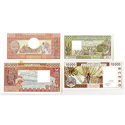 Banque des Etats de l'Afrique Centrale & Banque Centrale des Etats de l'Afrique de l'Ouest. 1982-200