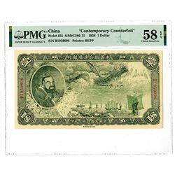 "Federal Reserve Bank of China, 1938 ""Contemporary Counterfeit"" Issue."