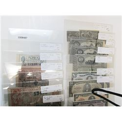 Various Cuban Issuers. 1896-1995. Lot of 26 Issued Notes.