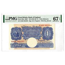 Bank of England, ND (1948-49) High Grade Banknote.