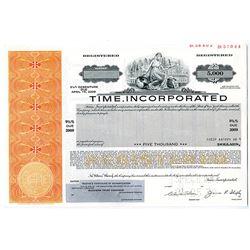 Time, Inc. 1979 Specimen Bond