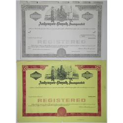 Anheuser-Busch Inc., 1960-70's Proof Registered Bond