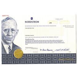 Nordstrom, Inc. 2000 Specimen Stock Certificate