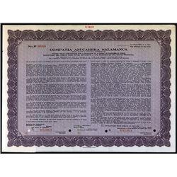 Salamanca Sugar Co., 1923 Specimen Voting Trust Stock Certificate.