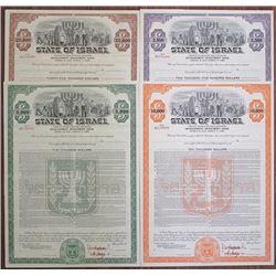 State of Israel, 20 Year 4.75% Dollar Bond - Development investment Issue,  1967 Specimen Bond Quart