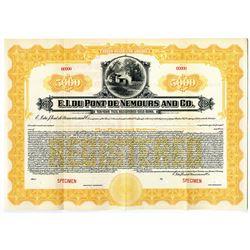 E.I. Du Pont de Nemours and Co. 1921 Specimen Bond