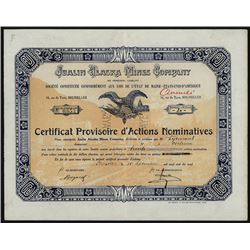 Jualin Alaska Mines Co., 1919 I/C Issued Stock