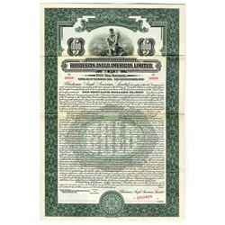 Rhodesian Anglo American, Ltd. 1932 Specimen Bond