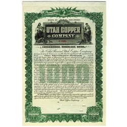 Utah Copper Co. 1906 Specimen Bond.