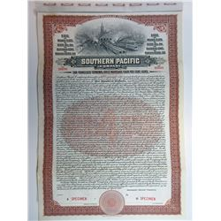 Southern Pacific Co. 1910 Specimen Coupon Bond