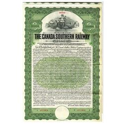 Canada Southern Railway Co. 1912 Specimen Bond