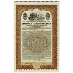 Georgia & Florida Railroad, 1926 I/U Coupon Bond