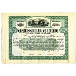 Mississippi Valley Co. 1904 Specimen Bond Rarity