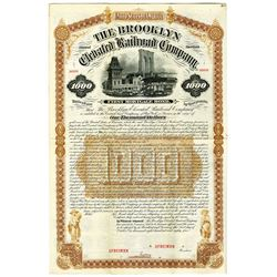 Brooklyn Elevated Railroad Co. 1884 Specimen Bond Rarity