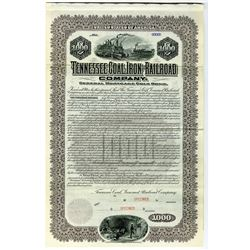 Tennessee Coal, Iron and Railroad Co. 1901 Specimen Bond