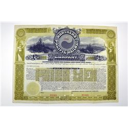 Northern Pacific Railway Co. 1897 Specimen Bond.