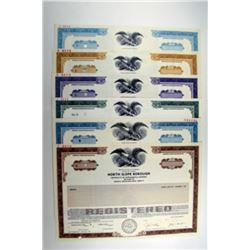 North Slope Borough, 1985 to 1989 Specimen Registered Bond Assortment.