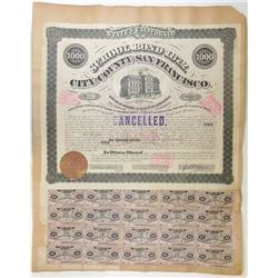 City and County of San Francisco, School Bond 1872 Bond