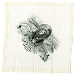 Alaska-Yukon-Pacific Exposition of 1909 Silk Handkerchief