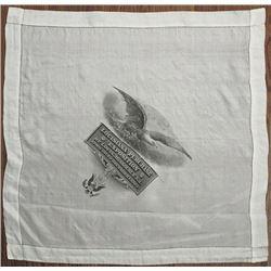 Louisiana Purchase Exposition 1904 Exposition Silk Handkerchief.