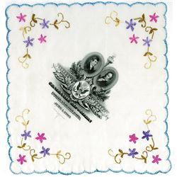 Lewis & Clark, 1905 Exposition Silk Handkerchief.