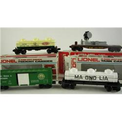 Assortment of Lionel Cars