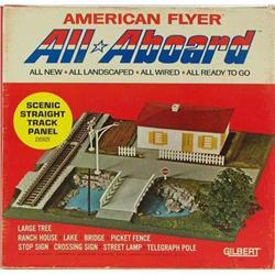 American Flyer All Aboard Panel