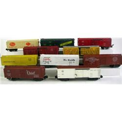 Set of 10 American Flyer Box Cars,