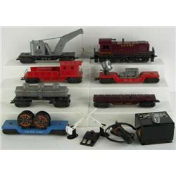 Marx Work Train Set No. 1998