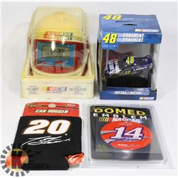 VINTAGE NASCAR DIE CAST SOLD WITH DRIVERS