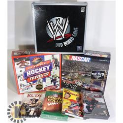 SEALED 3 SPORTS BOARD GAMES