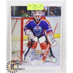NHL EDMONTON OILERS GOALIE HOF 03 GRANT FUHR