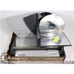 MEAT SLICER - CUISINART  (USED ONCE)