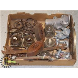 LOT OF ANTIQUE FARM PARTS