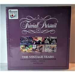 24)  FACTORY SEALED TRIVIAL PURSUIT - THE