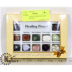 SEMI PRECIOUS STONES HEALING POWER BOX SET