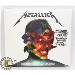 METALLICA HARDWIRED TO SELF DESTRUCT CD SET