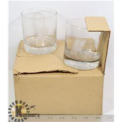 4 SCOTCH DRINKING GLASSES