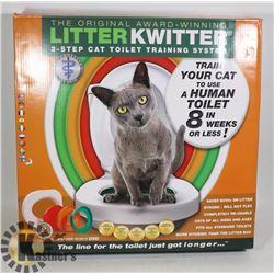 LITTER QUITTER 3 STEP CAT TRAINING SYSTEM