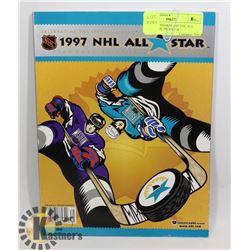 SAN JOSE SHARKS 1997 NHL ALL STAR GAME PROGRAM