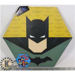 NEW BATMAN HEXAGON SHAPE WALL HANGING