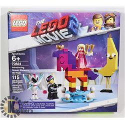 NEW LEGO MOVIE 2 INTRODUCING QUEEN WATEVRA