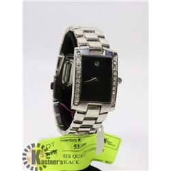 NEW LADIES QUALITY FASHION WATCH- BLACK