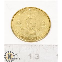 MAUI DOLLAR COIN KA 01 THE
