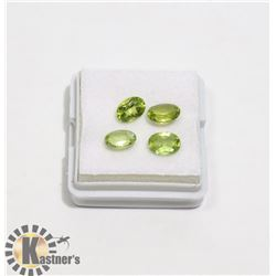 #5-GREEN PERIDOT GEMSTONE OVAL 3.5ct