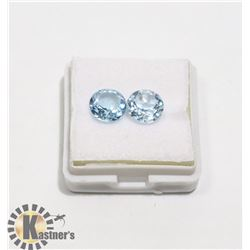#50-SKY BLUE TOPAZ GEMSTONE ROUND 4.35ct