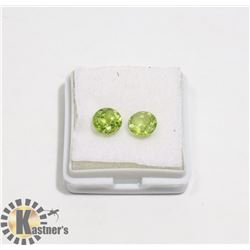 #18-GREEN PERIDOT GEMSTONE ROUND 2.5ct